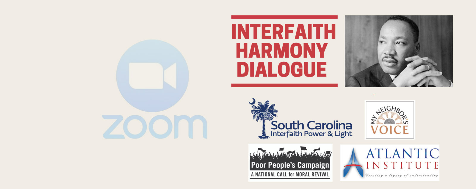 join us for an empowering, interfaith virtual dialogue event.